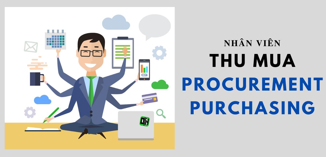 Nhân viên thu mua (procurement/purchasing)