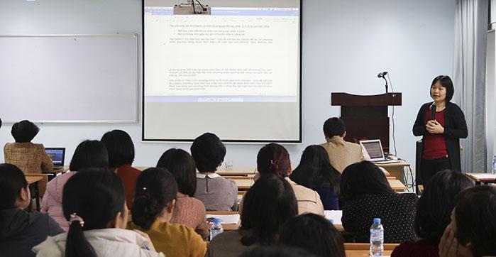 Tham gia các khóa học nghiệp vụ để nhanh chóng tiếp thu kiến thức
