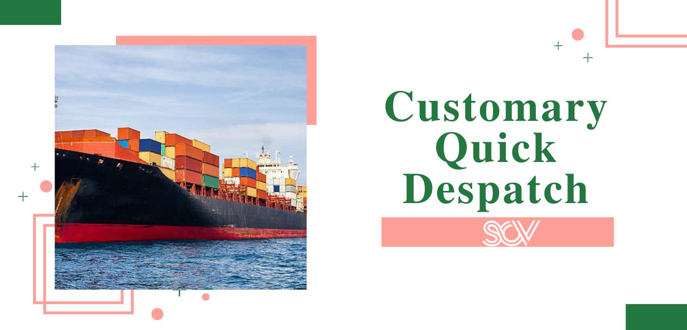 Customary Quick Despatch (CQD) là gì?