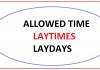 LayCan Time Là Gì