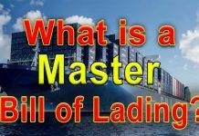 Master Bill Of Lading Là Gì