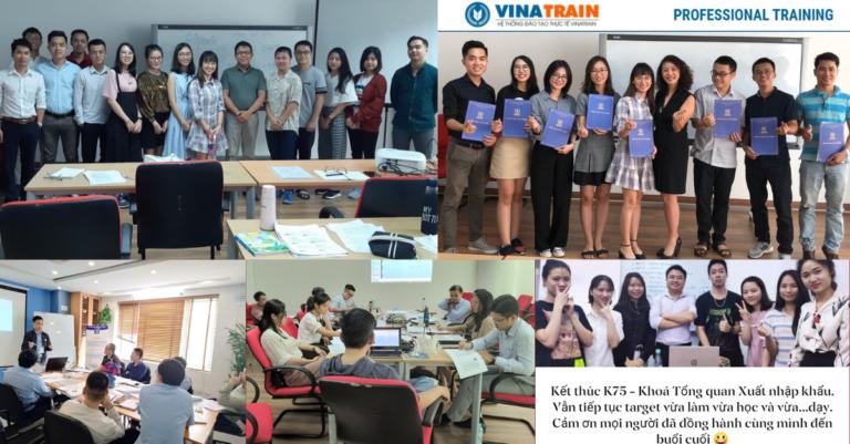Khóa học xuất nhập khẩu tại VinaTrain