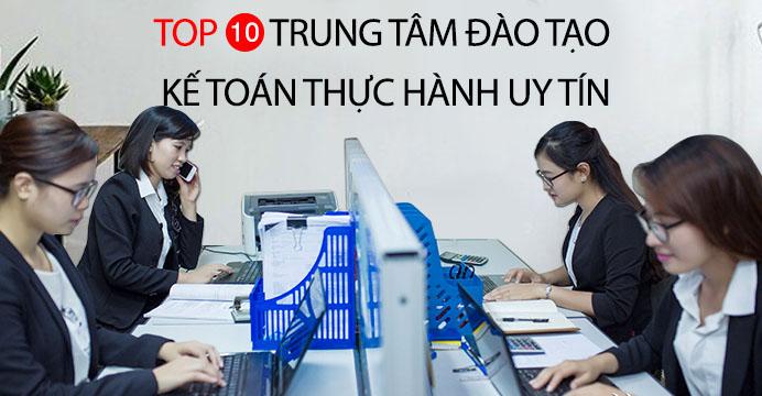 Khóa học kế toán ở đâu tốt nhất TPHCM, Hà Nội
