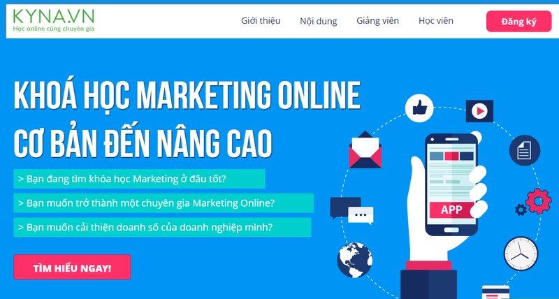 Khóa học Digital Marketing Online Kyna