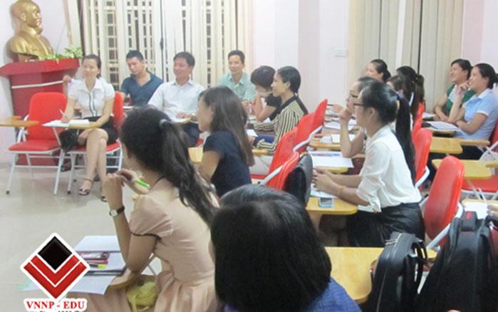 Khóa học hành chính nhân sự VNNP Việt Nam