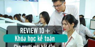 REVIEW 10+ Khóa Học KẾ TOÁN Cho Người Mới Bắt Đầu TỐT NHẤT