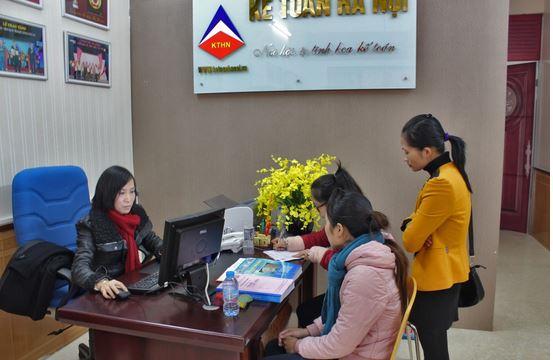 Hình ảnh đăng ký học tại trung tâm ké toán Hà Nội