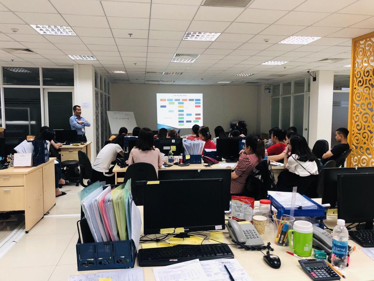 Chương trình đào tạo thu mua quóc tế VinaTrain đào tạo tại doanh nghiệp ( Nguồn VinaTrain Việt Nam)