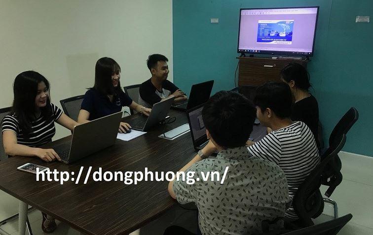 Hình ảnh lớp học khai báo hải quan điện tử tại trung tâm Đông Phương