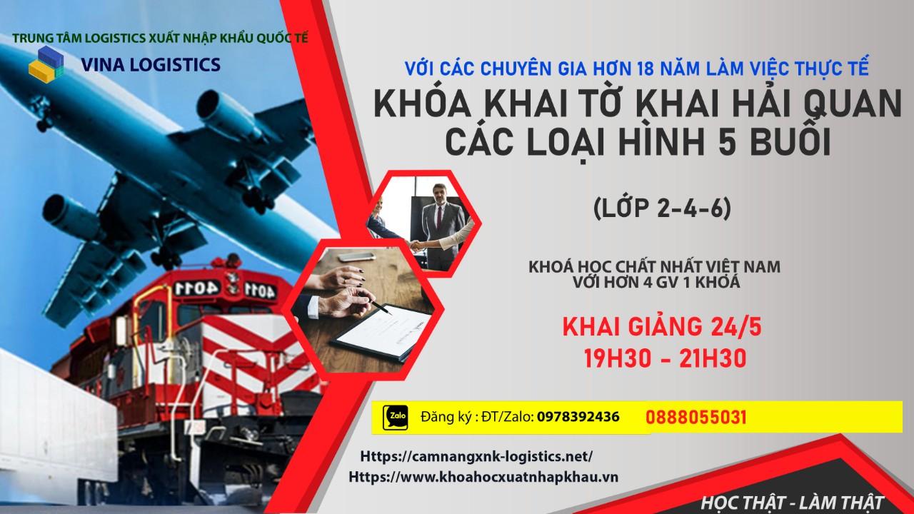 Khóa học xuất nhập khẩu online tại Vina Logistic
