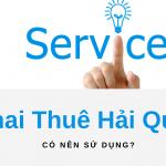 dịch vụ khai thuê hải quan bao gồm gì