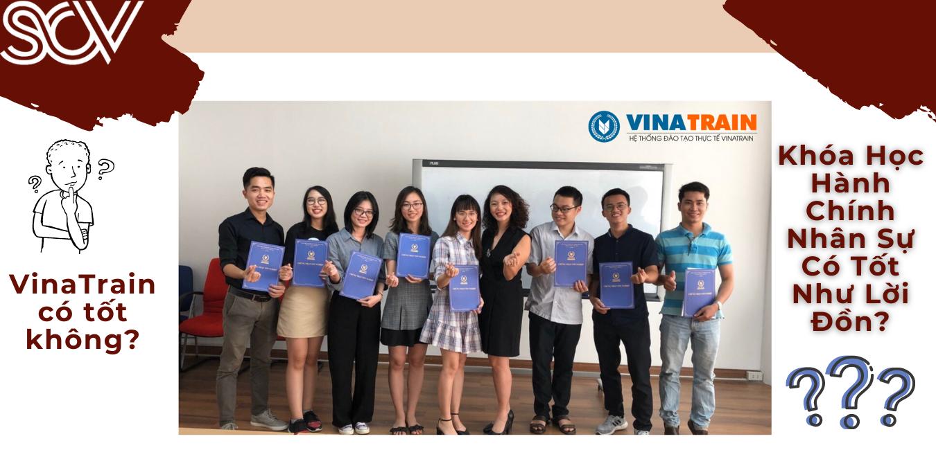 Vì sao mình chọn học hành chính nhân sự ở VinaTrain
